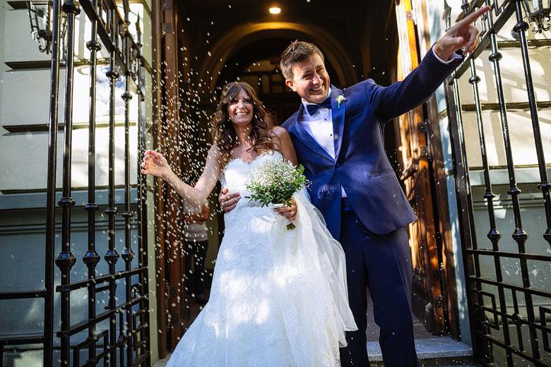Casamiento por iglesia en La Plata