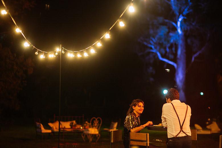 la herencia eventos casamiento de noche