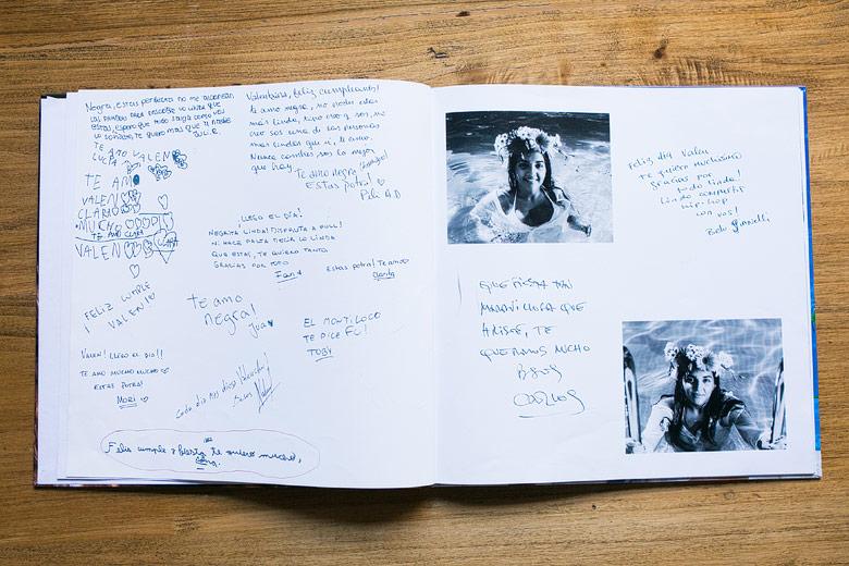 ejemplos de libros de firma