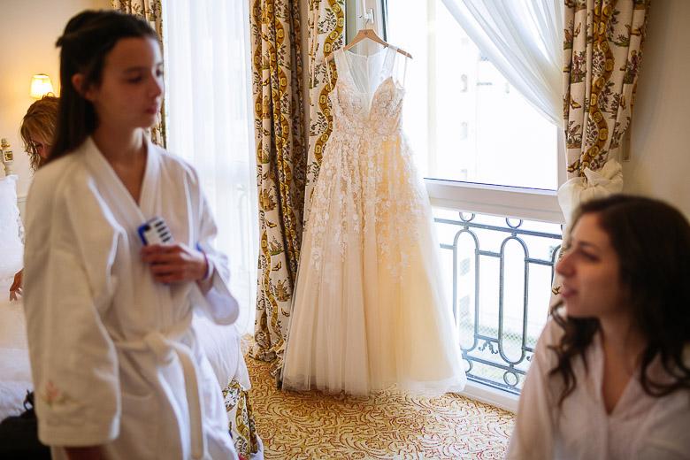 vestido de novia BHLDN