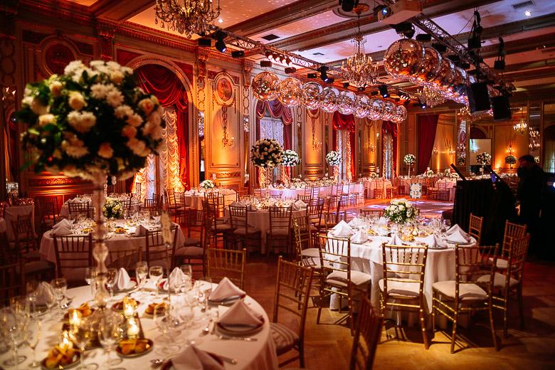 ambientacion boda de lujo