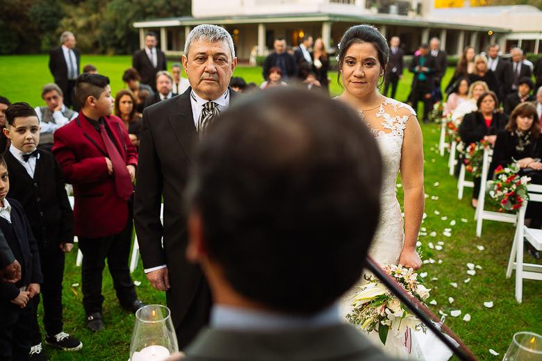 casamiento en pilar aire libre