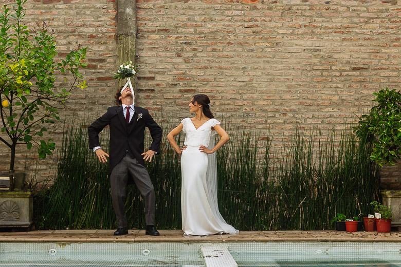fotos originales divertidas de casamiento