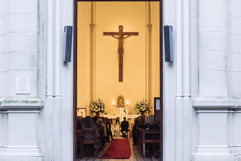 ceremonia en capilla del colegio marin en san isidro