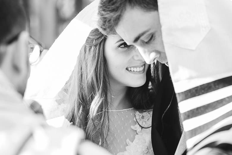 Casamiento al aire libre en Palacio Sans Souci
