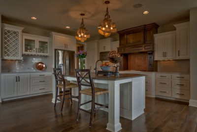 Kitchen island of the Chesapeake floor plan