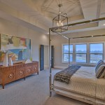 Master Bedroom of the Coronado plan