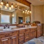 El Dorado master bath double vanity