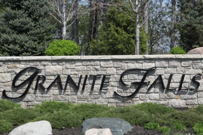 Granite falls community monument