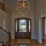 Hepton Entry with front door with dual sidelights