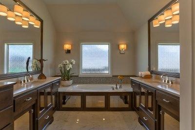 Hepton Master Bath with matching vanities