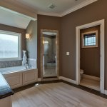 Lancaster EX master bath with tile floor