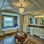 Larsen EX Master bath with barrel ceiling
