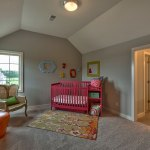 Summerlin EX secondary bedroom as nursery with pink crib