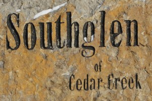 Southglen of Cedar Creek community monument