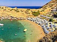 Песчаные пляжи на Крите