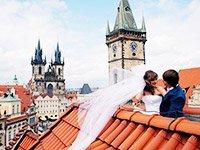 Отзывы молодожёнов о свадьбе в Праге