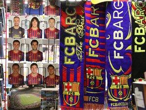 Атрибутика футбольного клуба Барселона