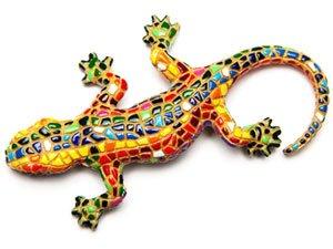 Ящерица - символ Барселоны