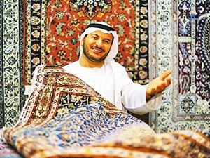 Сувениры из Дубая - арабские ковры