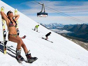 Горные лыжи в Зёльдене летом