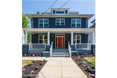 Fully Renovated 16th Street Heights Property!  4817 IOWA AVENUE NW, WASHINGTON, DC 20011 is $1,434,000 to be yours.