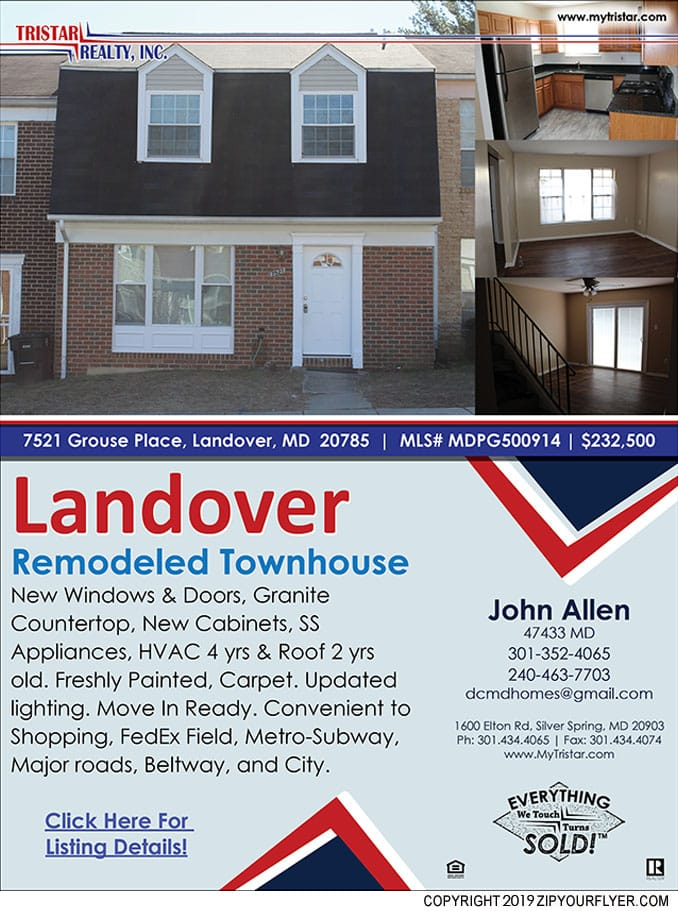 Remodeled Townhouse