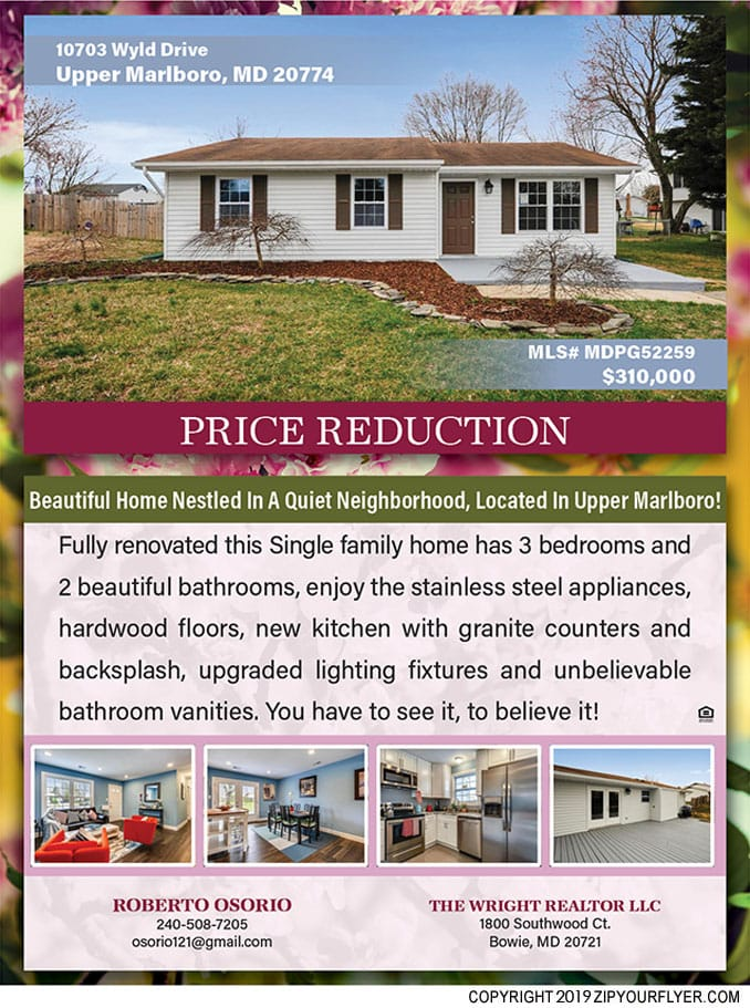 Price Reduction in Upper Marlboro, MD