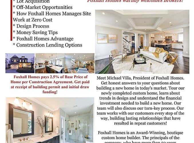 Meet the Builder with Foxhall Homes