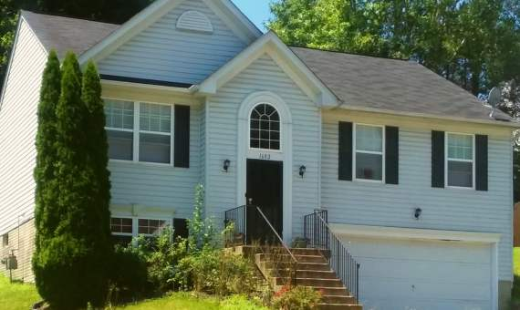 1602 Shady Glen Drive, District Heights, MD 20747 Front Lower