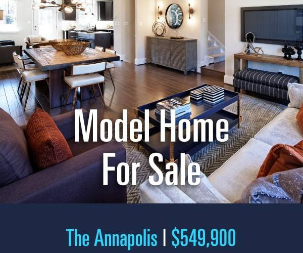 Craftmark Homes' Model Home for Sale in Montgomery County