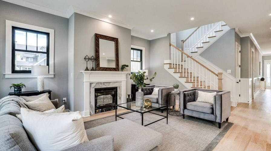 Brand Newly Constructed – 2007 N Edison St, Arlington, VA 22207 is your residence for $1,550,000