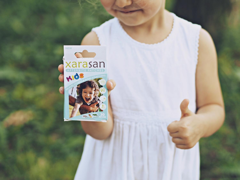 XARASAN KIDS- ULGA OD SWĘDZENIA, OCHRONA PRZED DRAPANIEM.