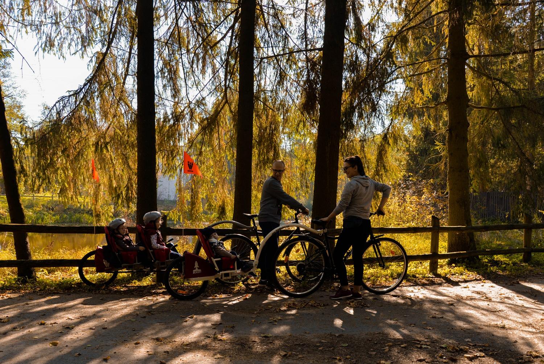 Lasy Kozłowieckie- #odkrywamylubelszczyznę z Weehoo. Kolejne, rodzinne kilometry za nami!