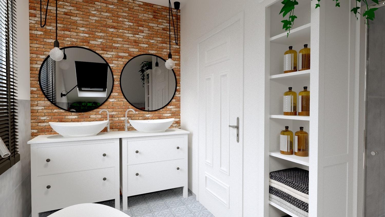 Projekt naszej łazienki górnej, który przeszedł moje najśmielsze oczekiwania!