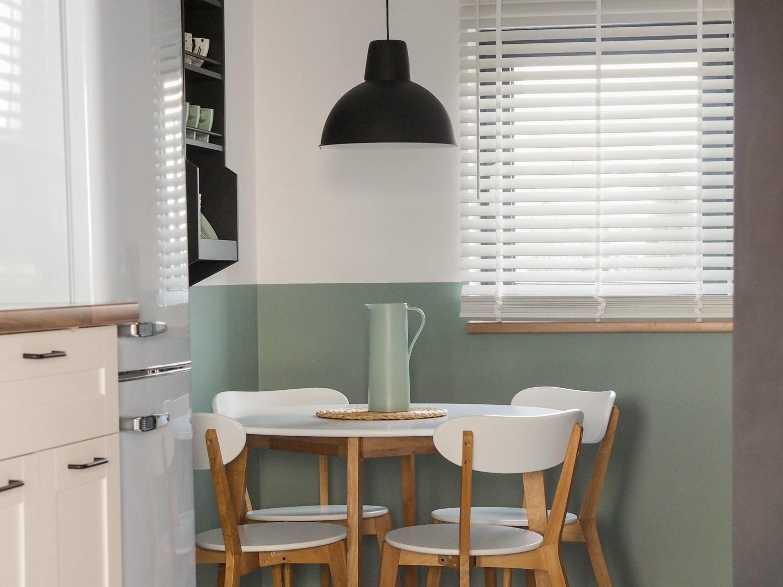 Nowa odsłona mini jadalni czyli okrągły stół, o którym zawsze marzyłam… ALE nie tylko!