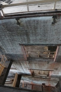 Double Elevator Shaft from 4th Floor