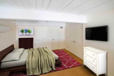 Otis I platform bedroom