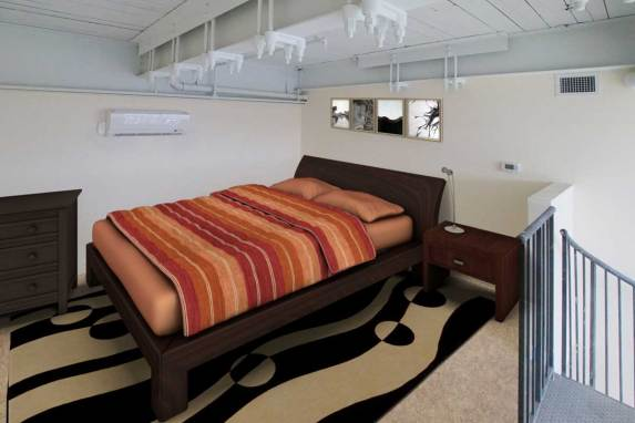 Otis II Platform Bedroom