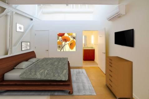 Wright Bros II Platform bedroom