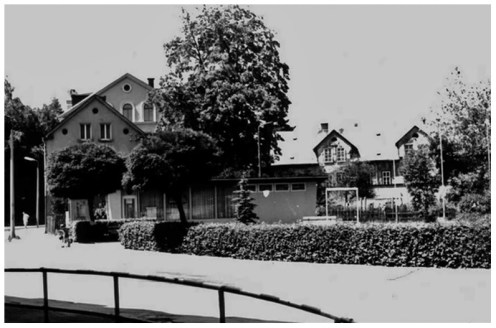 Blick zum Leninplatz