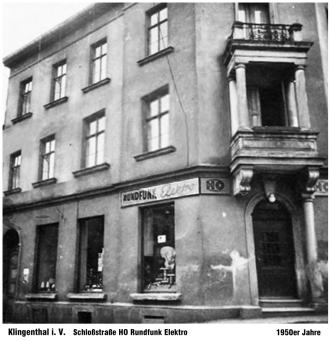 Schloßstraße – HO Rundfunk – Elektro (fünfziger Jahre)