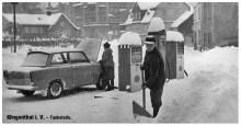 Tankstelle (Winter)