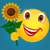 Smiley_Sonnenblume