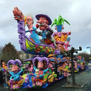 Carnaval in Limburg Stoet Rekem