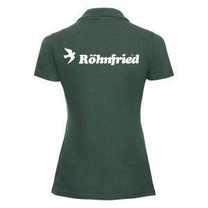 Koszulka POLO damska – BUTELKOWA ZIELEŃ
