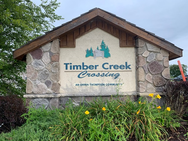 Timber Creek Crossing – Plymouth: Door Painting