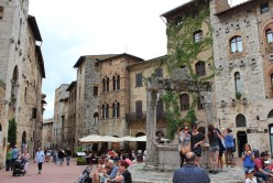 Town square. This place is a world heritage location deemed by UNESCO.