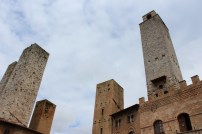 The ominous towers of the medieval city. Hard to believe that it has been so well preserved.