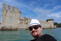 Fast forward to the last day, lake Garda and Verona visits. We're at Sirmione.